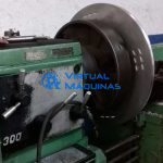 Torno Mecânico Marca Turri Mod. T300sb (Ø X Comp) 700 X 1750 Mm