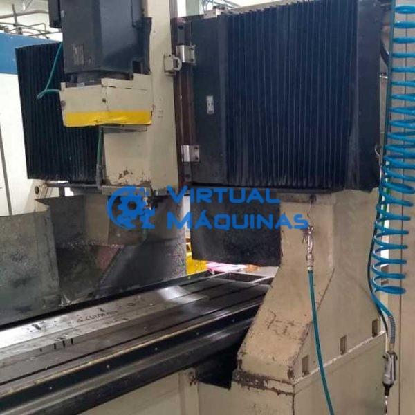 Fresadora de Portal CNC com cursos em X de 2300 a 10000 mm novas